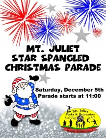 2015 Mt Juliet Christmas Parade