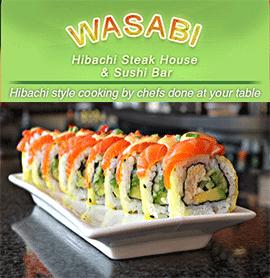 Wasabi Hibachi Steak House & Sushi