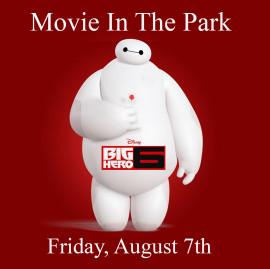 big hero movie in the park