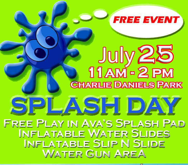 Splash Day Charlie Daniels Park