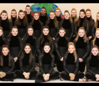 Mount Juliet High School Winter Guard and Drumline Shined Bright