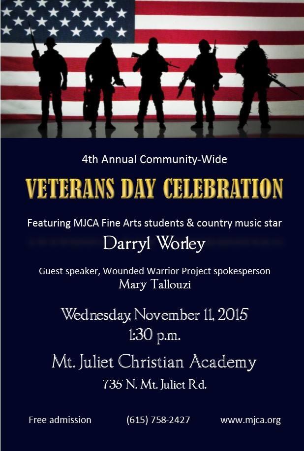 Verterans Day Celebration MJCA