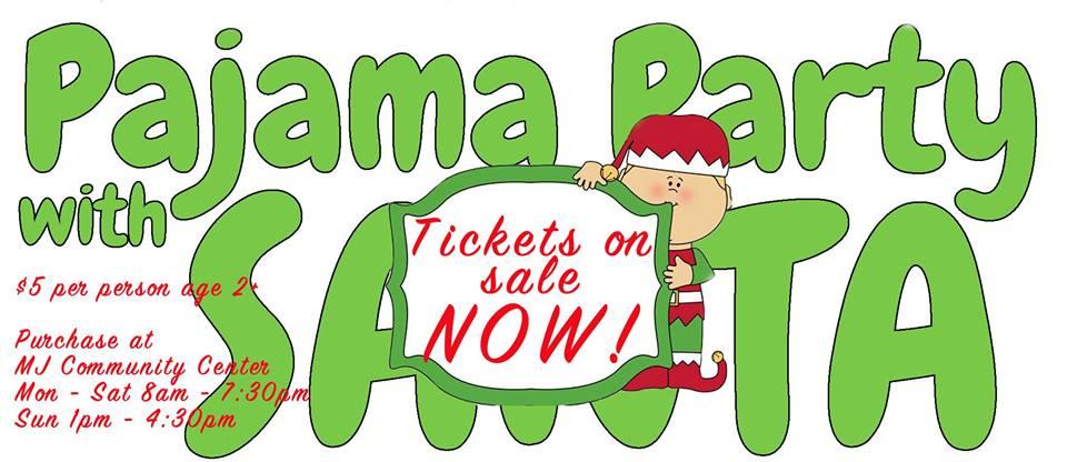 Pajama Party with Santa