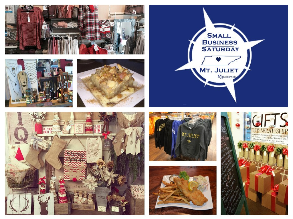 Small Business Saturday MJ Compass