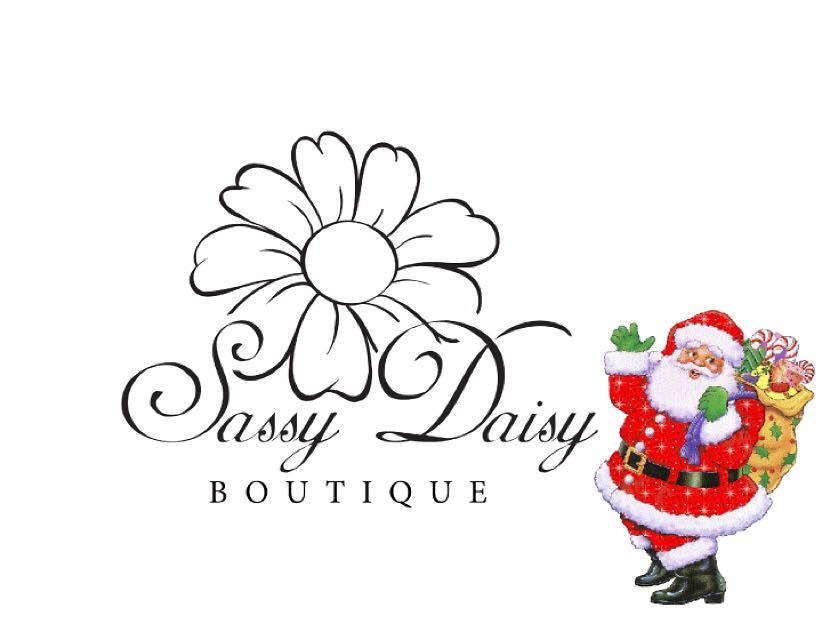 Sassy Daisy Christmas Santa