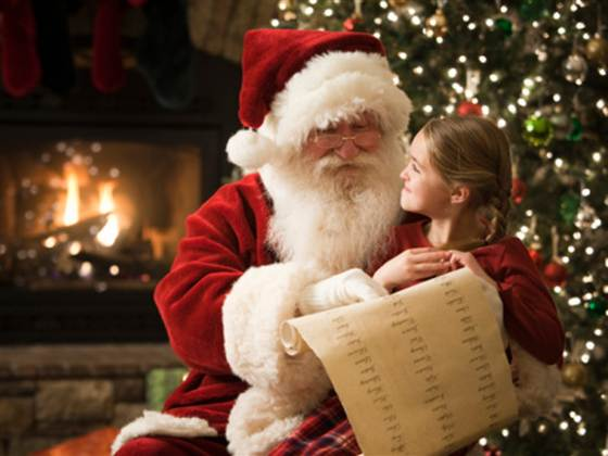 if santa is going to come all the way to mt juliet tennessee from the north pole wed better make it worth his while and hes making it worth your while - Santa And Kids