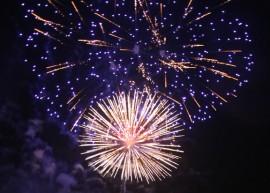 Fireworks July 4th 2016 Mt. Juliet